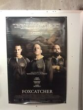 Original Movie Poster For Foxcatcher Single Sided 27x40