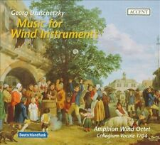 GEORG DRUSCHETZKY: MUSIC FOR WIND INSTRUMENTS NEW CD