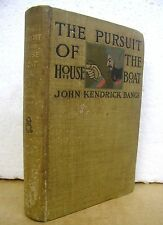 The Pursuit of The House Boat by John Kendrick Bangs & Peter Sewell 1897