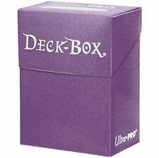 Porta Mazzo Ultra PRO Magic PURPLE Deck Box 82482 -Viola Standard Size Carte MTG