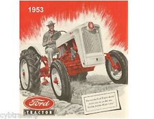 1953 Ford Tractor Ad  Refrigerator / Tool Box  Magnet