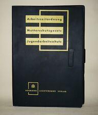 alter Ordner 50er Leerordner Luchterhand Verlag Arbeitszeitordnung Mutterschutz