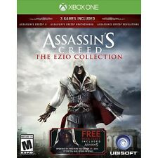 New Xbox One Assassin's Creed Ezio Collection 3 GAMES II Revelations MOVIE ✔
