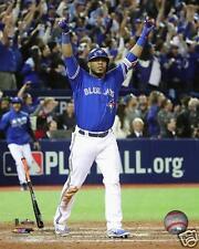 Toronto Blue Jays Edwin Encarnacion Baseball 8x10 Glossy Picture Winning Homerun
