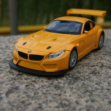 BMW Z4 GT3 Alloy Diecast Model Cars 1:32 Sound&Light Toy Collection&Gifts Yellow