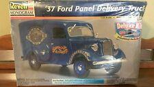 Revell Monogram '37 Ford Panel Delivery Truck model kit w paint & glue-1:25