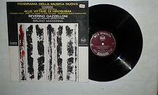 Bruno Maderna – Panorama Della Musica Nuova -Disco Vinile 33 Giri LP ITALIA