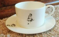 FREDDIE MERCURY bone china Cup and Saucer QUEEN b/w