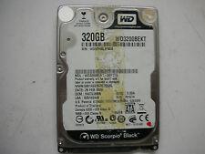 """WD Scorpio Black 320gb WD3200BEKT-00F3T0 2061-701574-D00 AB 2,5"""" SATA"""