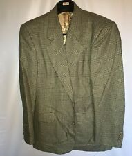 GIANFRANCO RUFFINI Italy Men's Sport Coat 44R 3 Button Silk Brown Jacket Blazer