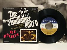 "THE LOVELETS  THEME OF THE GODFATHER PART II - IL PADRINO PARTE 2 45 GIRI 7"" OST"