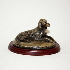 IRISH SETTER  Bronze Figurine. Hand made in England. Ideal gift.