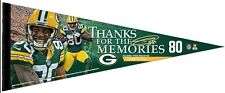 Green Bay Packers, Donald Driver, 12x30 Premium Pennant, Thanks For The Memories