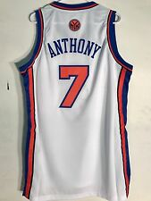 Adidas Swingman NBA Jersey NEW YORK Knicks Carmelo Anthony White sz 2X
