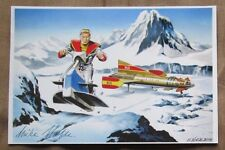 MIKE NOBLE Signed FIREBALL XL5 Art Photo 1960s ARTIST Autograph GERRY ANDERSON