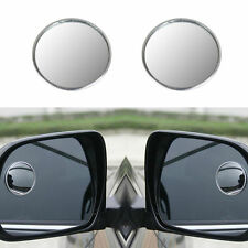 2 x Car Blind Spot Rear View Mirrors Rearview Wide Angle Round Convex Mirror