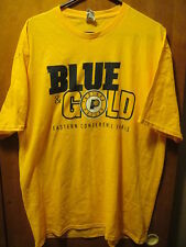 INDIANA PACERS Blue & Gold SGA Eastern Conf Finals 2014 T Shirt XL Yellow