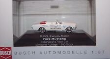Busch Ford Mustang 1964 Cabriolet Convertible Pace Car 1/87 H0 OVP Sondermodell