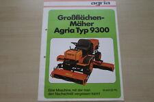 163569) Agria Großflächenmäher 9300 Prospekt 04/1981