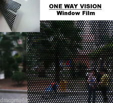 10m Digital Eco Solvent One Way Vision Window Film Graphic Advertising
