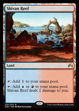 Shivan Reef - LP - Magic Origins MTG Magic Cards Land Rare