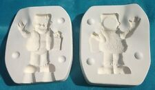 "Kimple Ceramic Casting Mold 1526 Frankenstein Halloween 1989 8"" x 2.5"""