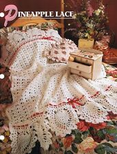 Pineapple Lace  Annie's Attic Crochet Afghan Pattern Instructions
