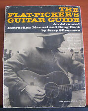 The Flat-Picker's Guitar Guide - 1968 PB- Music Instruction by Jerry Silverman