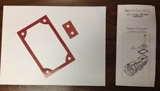 Ford T5 TR3650 T45 Shifter Gasket UPGRADE KIT! Quiet your ride!