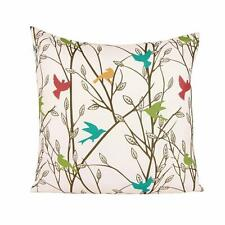 Summertime Bird Square Throw Pillow Case Cushion Cover Home Decoration