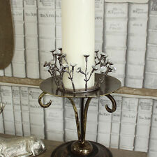 Jewlled candle ring candelabra wedding dining table centre accessory