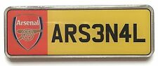 Large Arsenal Football Club Number Plate Enamel Lapel Pin Badge Official