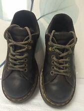 DR MARTENS 8312  Men UK 6/US 7 Brown Oiled Leather Casual OXFORDS SHOES