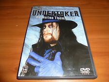 WWE - Undertaker: He Buries Them Alive (DVD, Full Frame 2003) WWF Used