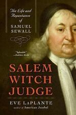 Salem Witch Judge: The Life and Repentance of Samuel Sewall Eve LaPlante Paperb