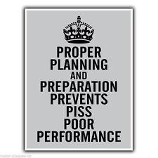 Una corretta pianificazione e preparazione 7 PS militare preventivo METAL SIGN TARGA