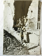 ww2 photo press  German prisoners taken by Allied forces in Italy 1944   122
