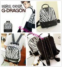 GD Big Bang G-dragon bigbang bag schoolbag Backpack Kpop NEW