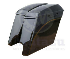 New Extended Stretched Mutazu Touring Saddlebags for Harley 2014 Models