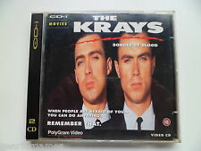PHILIPS CDI CD-i VIDEO CD THE KRAYS BONDED BY BLOOD DIGITAL VIDEO