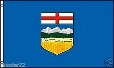 Huge 3' x 5' High Quality Alberta Provincial Flag - Free Shipping