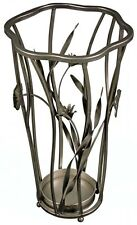 Stile vintage floreale metallo Umbrella Stand Holder. DS