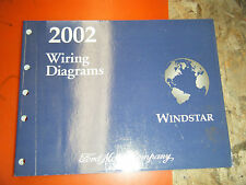 2002 FORD WINDSTAR ORIGINAL FACTORY WIRING DIAGRAMS MANUAL SERVICE
