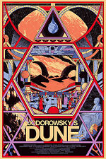 Jodorowsky's dune film poster print A4 260GSM