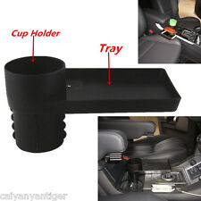 Car Snack Tray Food Drink Bottle Rack Cup Holder Mount Stand Storage Organizer