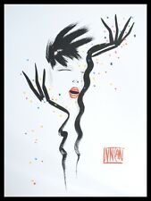 Duncan Poster Bild Kunstdruck mit Alu Rahmen in schwarz 80x60cm - Portofrei