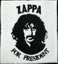 Zappa for President iron on/sew on cloth patch (tg)