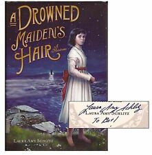 Laura Amy Schlitz, DROWNED MAIDEN'S HAIR (Inscribed by Author), 1st Ed
