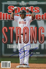 Johnny Gomes Sports Illustrated Autograph Poster