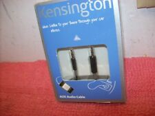 Kensington Car Audio AUX Cable for iPhone/iPod/ iPhone Android MP3 Free U.S ship